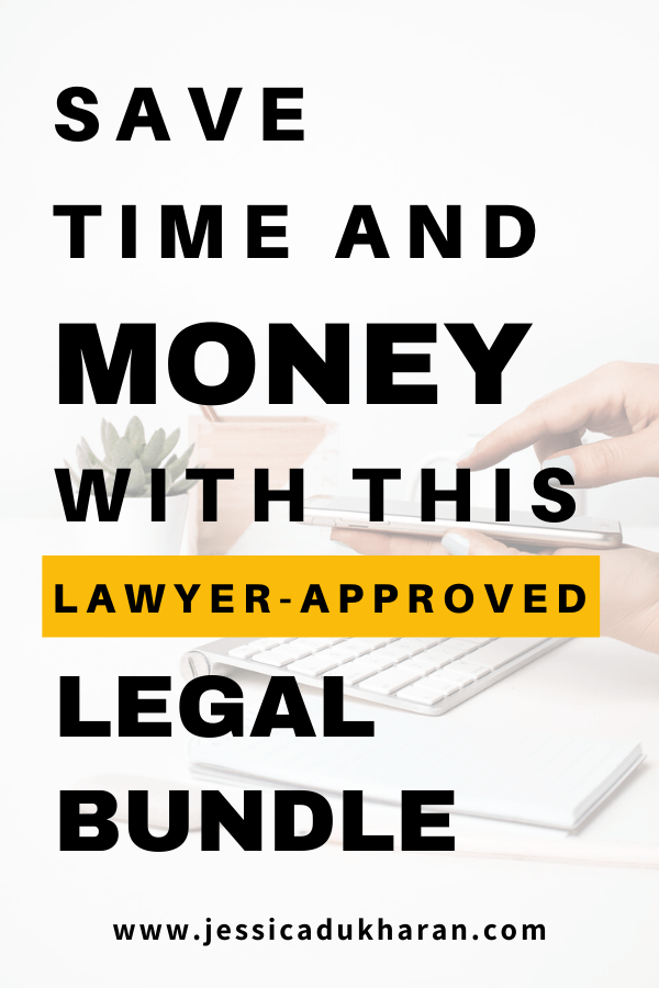 Save time and money with this lawyer-approved legal bundle