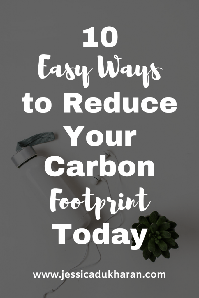 Easy Ways to Reduce Your Carbon Footprint