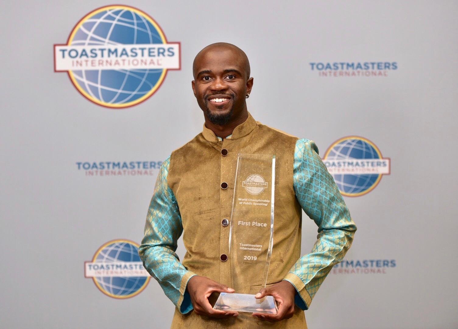 Aaron W. Beverly, 2019 World Champion of Public Speaking