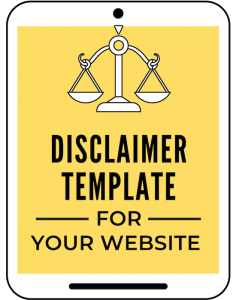 Disclaimer Template for Your Business
