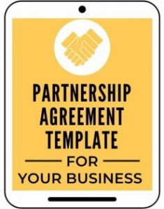 Partnership Agreement Template for Your Business