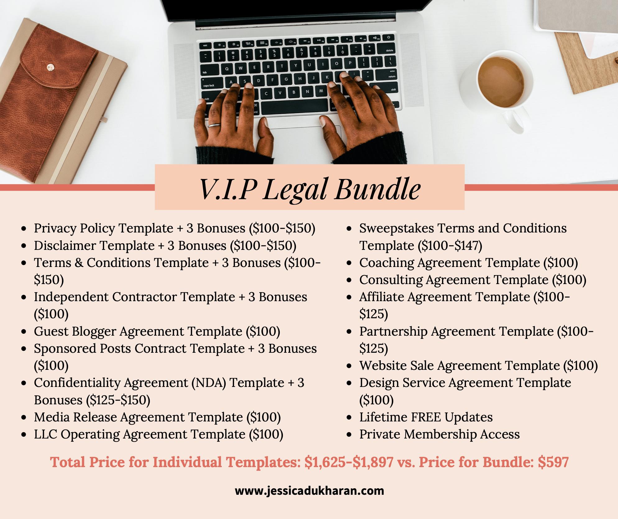 V.I.P Legal Bundle