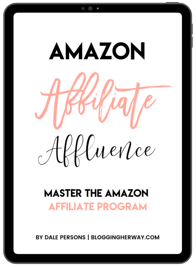 Amazon Affiliate Affluence Ebook