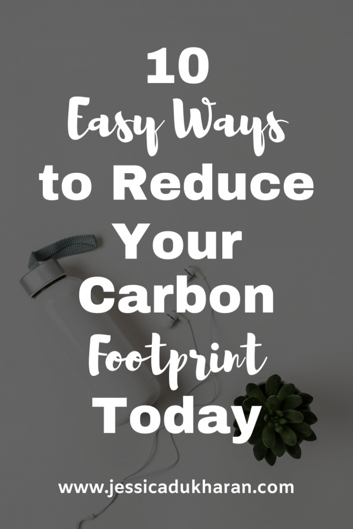 10 Easy Ways to Reduce Your Carbon Footprint