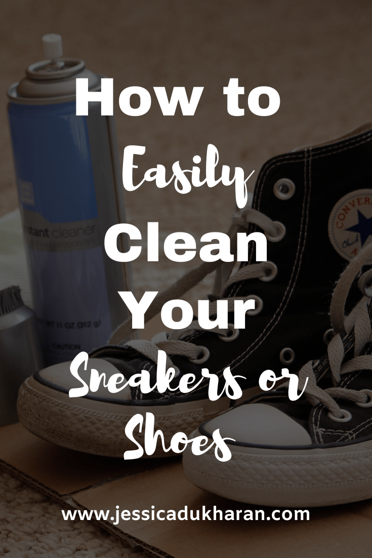 How to Easily Clean Your Sneakers or Shoes