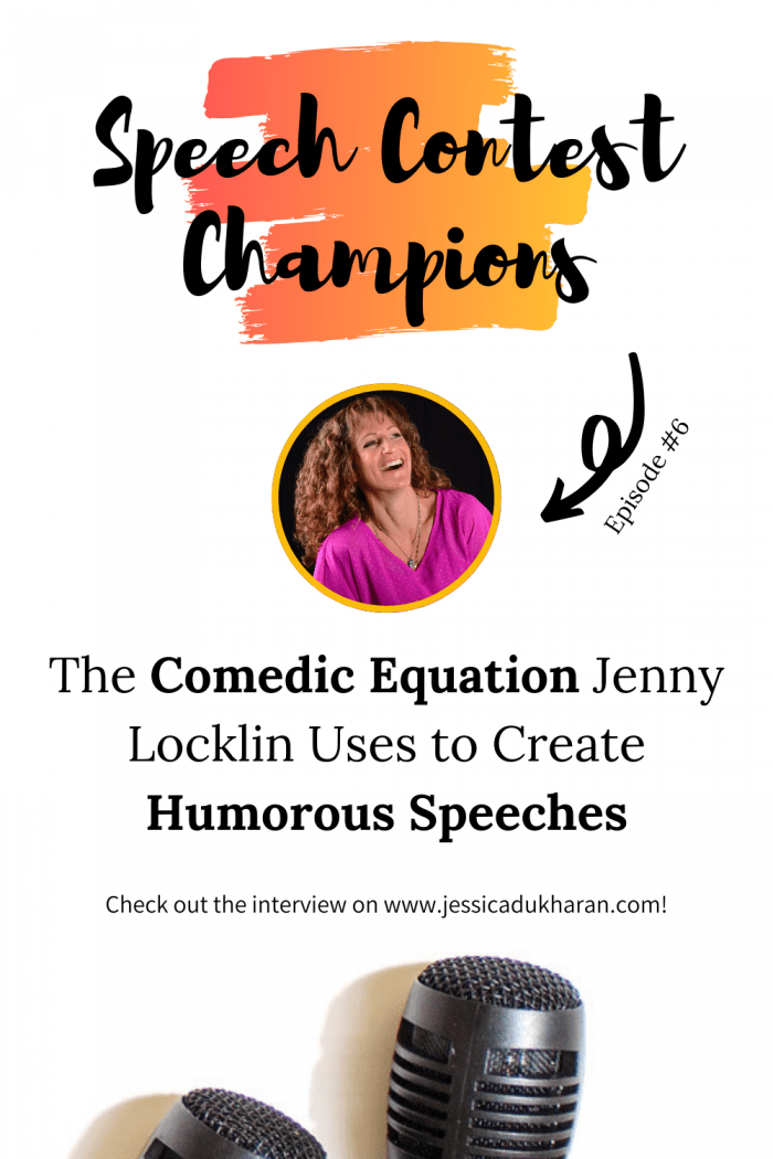 The Comedic Equation Jenny Locklin Uses to Create Humorous Speeches